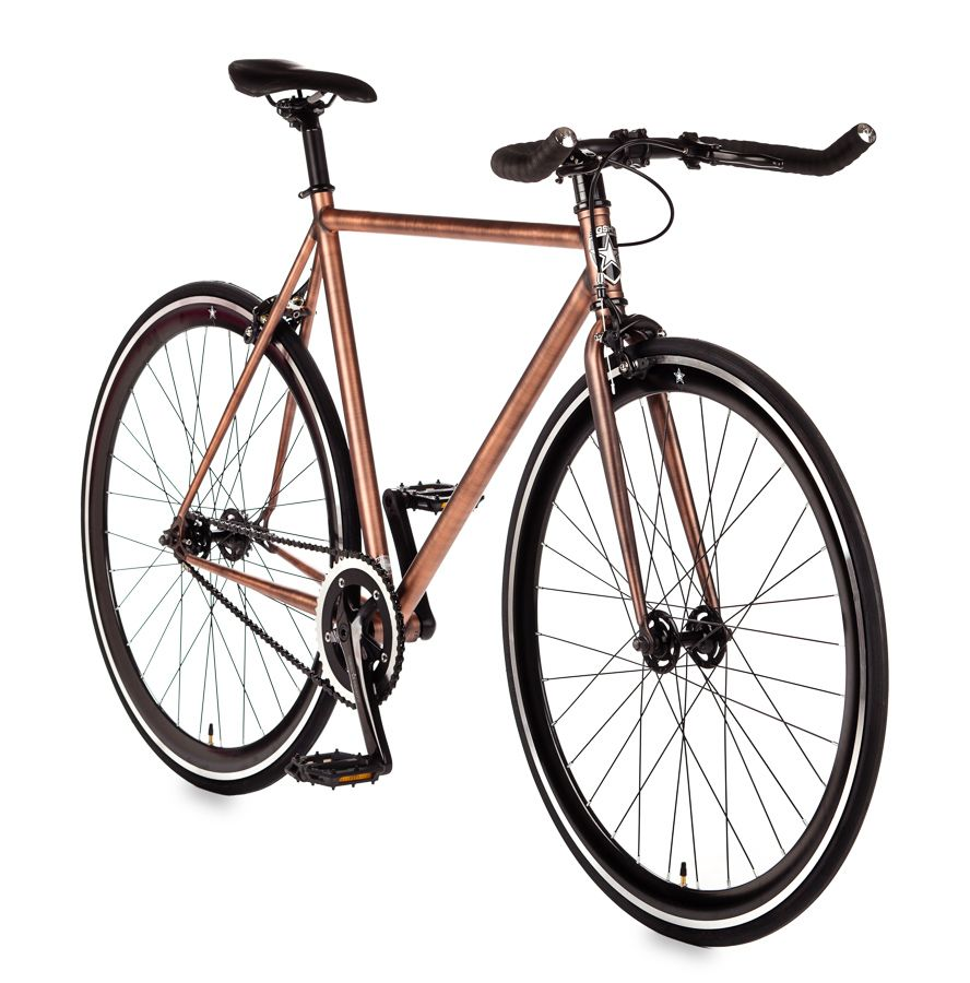 Steampunk Copper Single Sd Fixed Gear From Shot Bikes In Fort Collins Co