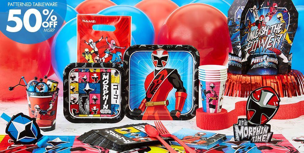 Cake Power Rangers Ninja Steel Birthday Cake