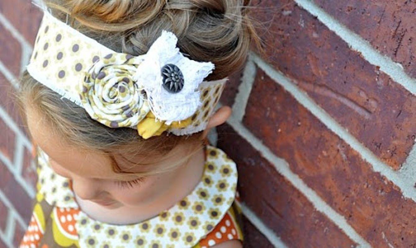 Mode Des Enfants Tutoriel De Bandeau Headband Diy Et