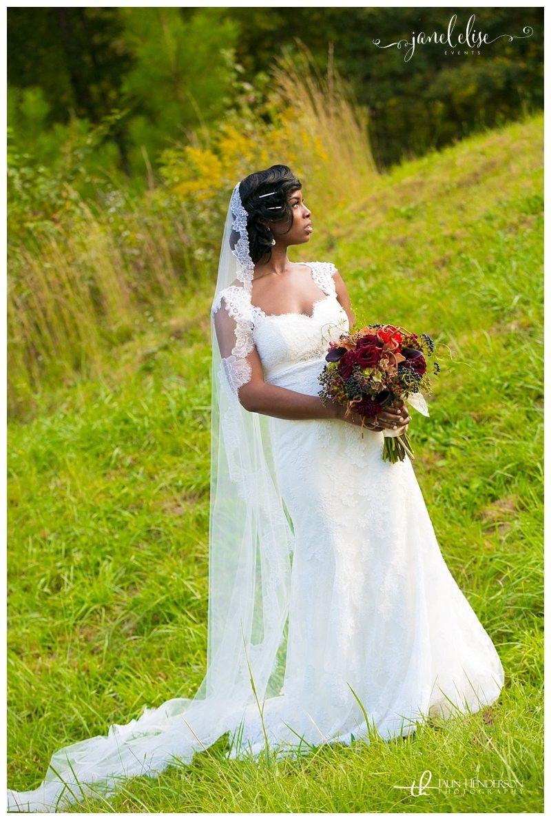 White Lace Wedding Dress | Purple And Silver Backyard Wedding | Janel Elise  Events | Atlanta