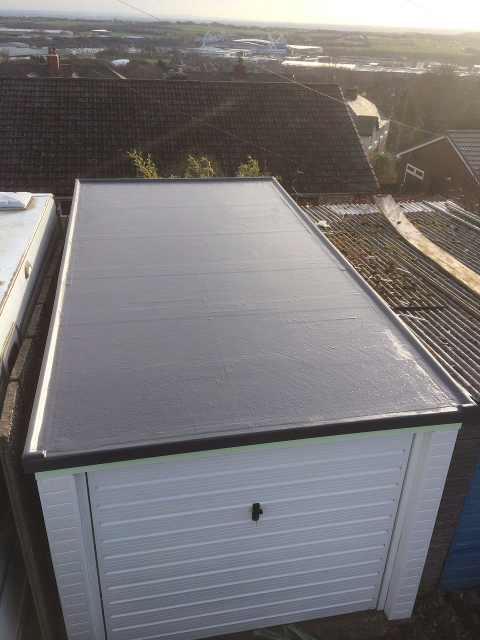 Perfect GRP Roofing Systems For All Types Of Flat Roof Replacement And Garage Roof  Replacement. Free Quote On All Flat Roofs!