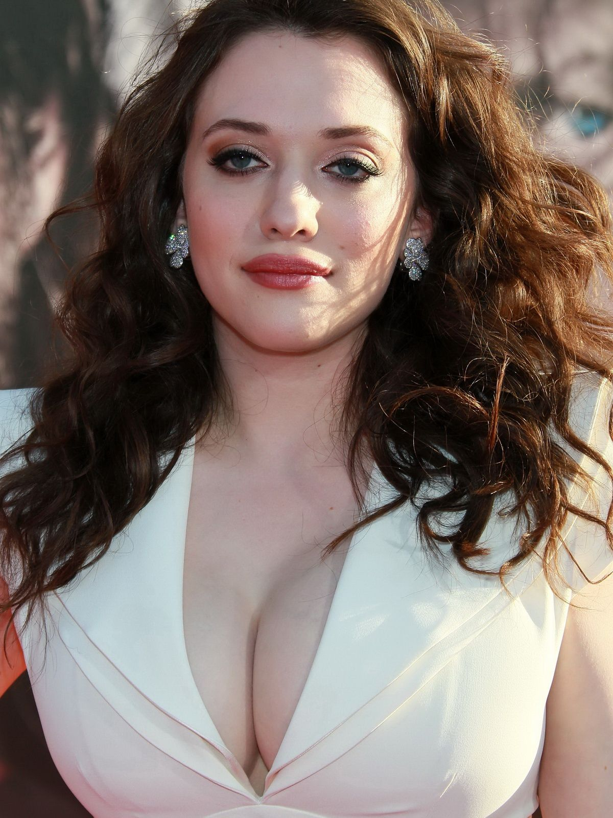 cleavage dennings Hot kat