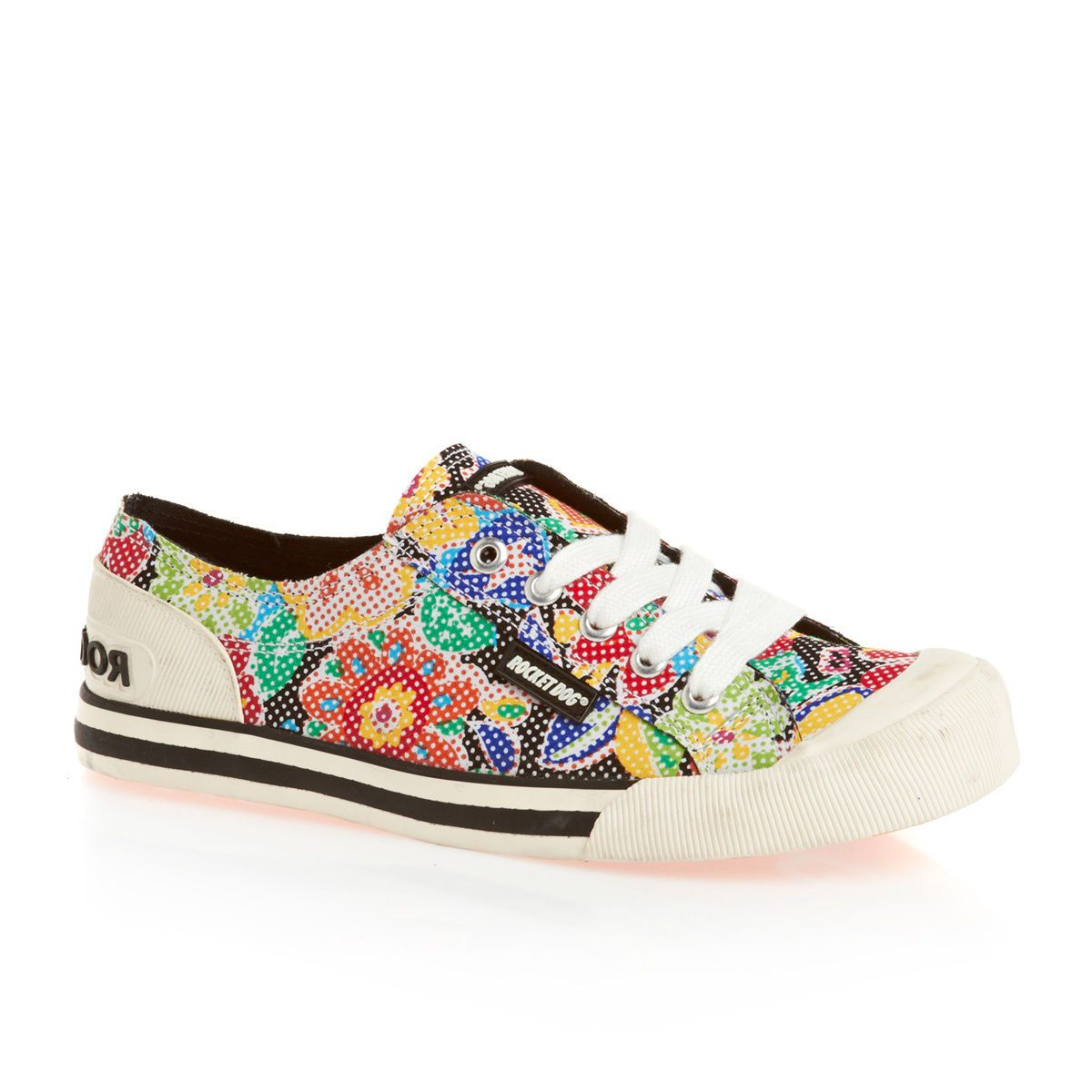 0fa0a7ff8852c7 Rocket Dog Jazzin Shoes - Black Sugar Flower