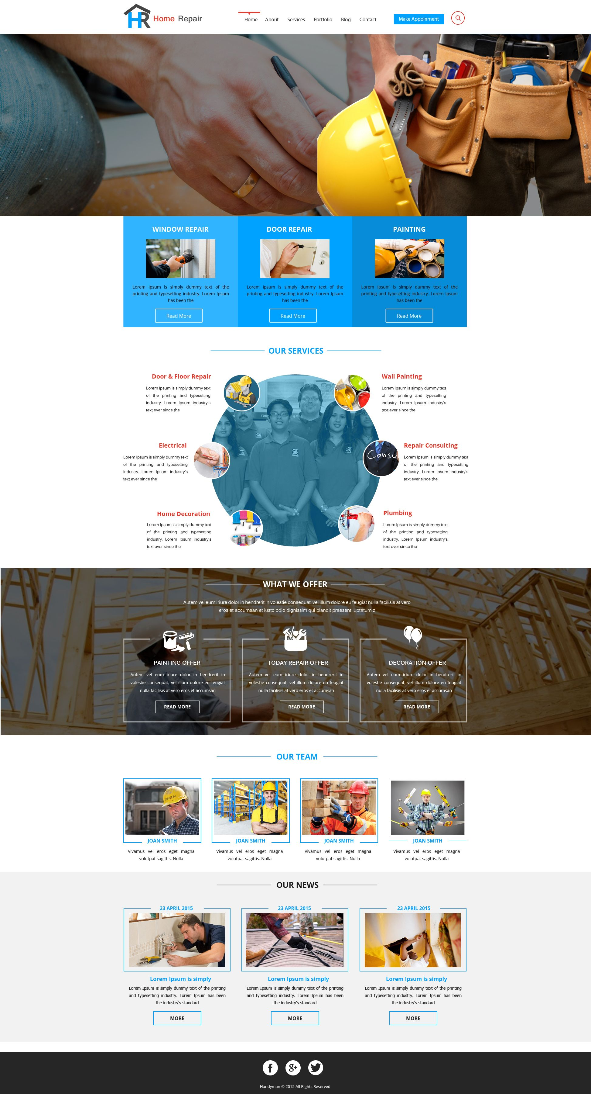 Sells Constructions Template One Of The Best Website Builder In - Website template builder