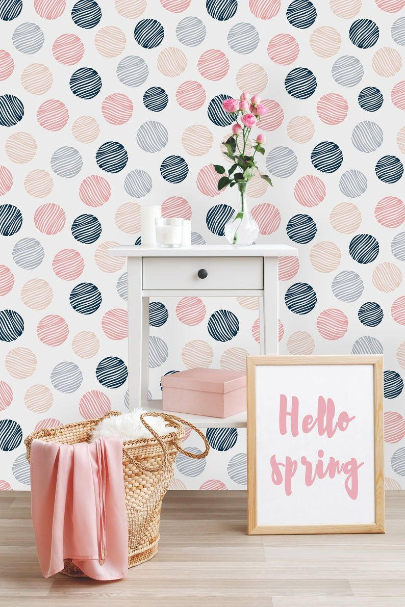 Removable Wallpaper Self Adhesive Wallpaper Blue Watercolor Etsy Removable Wallpaper Nursery Wallpaper Peel And Stick Wallpaper