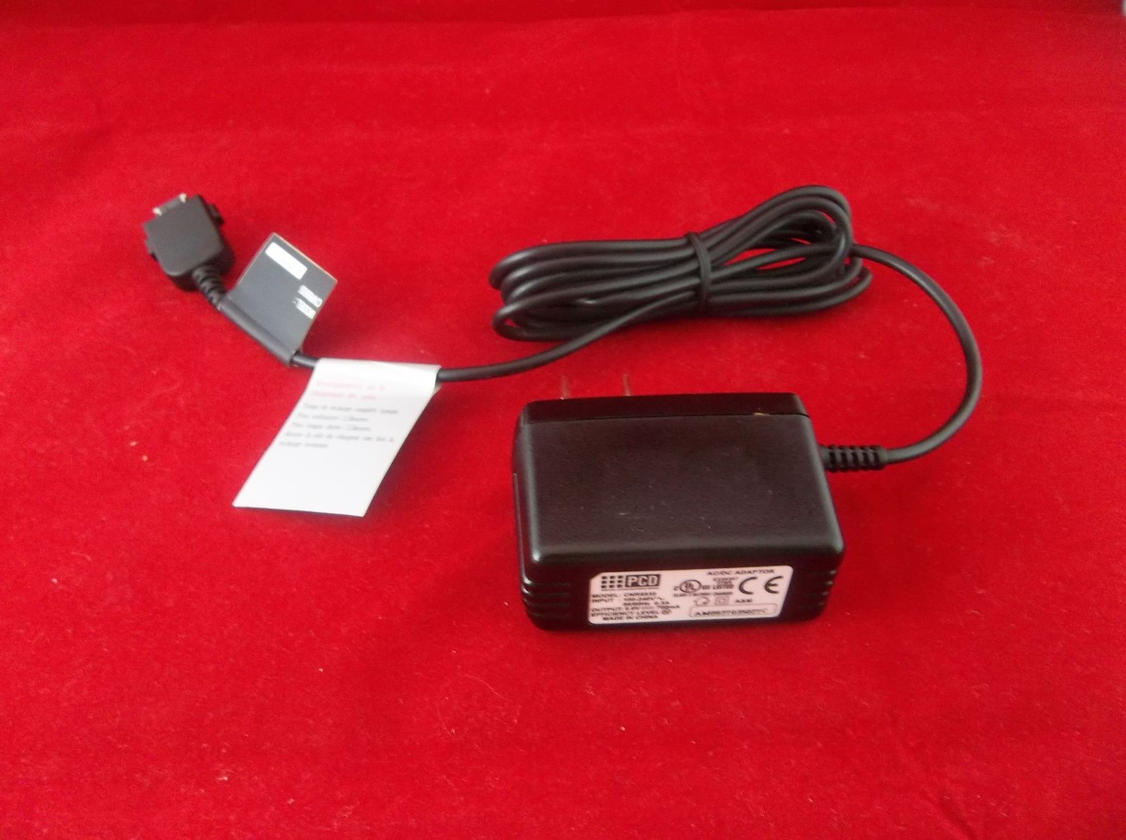 Pcd Cnr8935 Ac Dc Power Adaptor Cell Phone Charger Cord All My Wiring Plug Cellphone Oem Bonanza