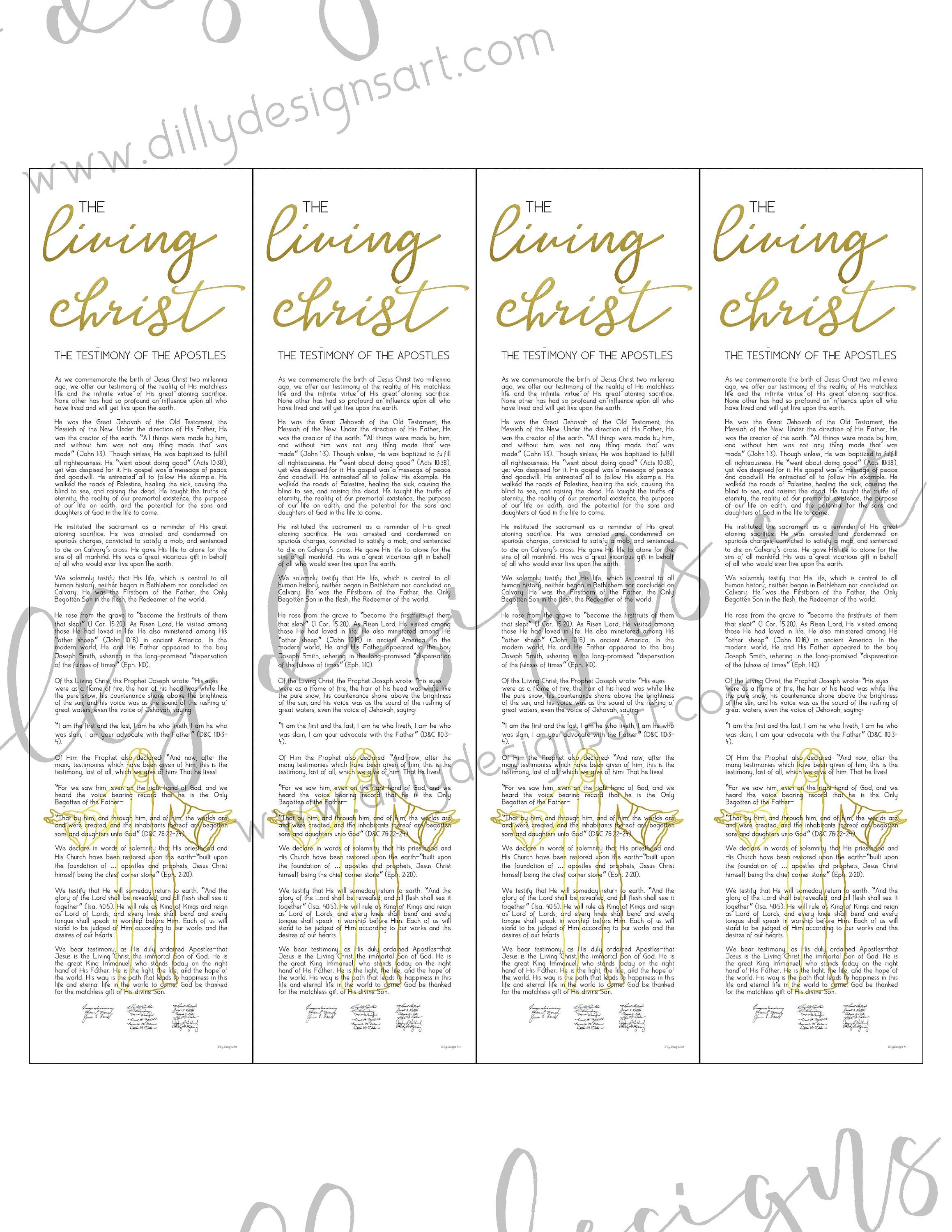graphic regarding The Living Christ Free Printable titled Residing Christ, Bookmark , Bookmark Printable, Christ