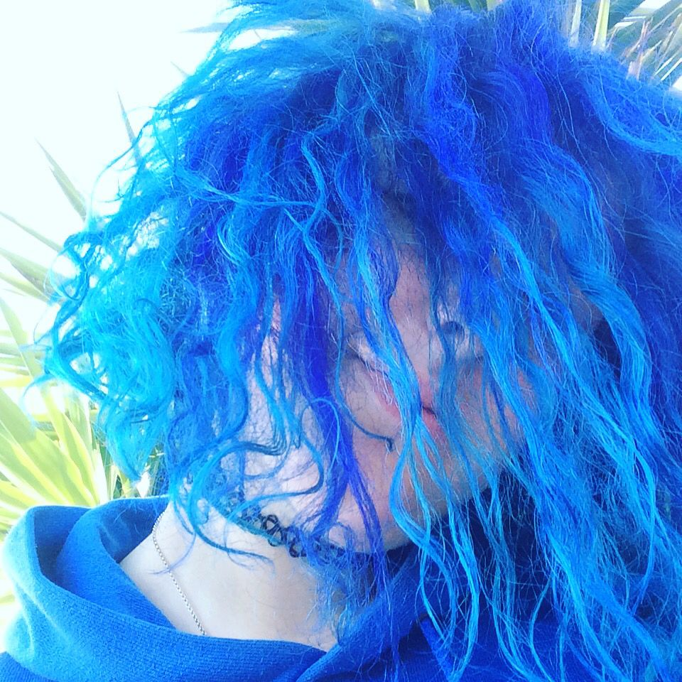 Blue is the warmest colour hair pinterest blue hair