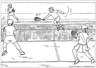 tennis colouring page school sports theme summer coloring pages tennis match coloring pages. Black Bedroom Furniture Sets. Home Design Ideas
