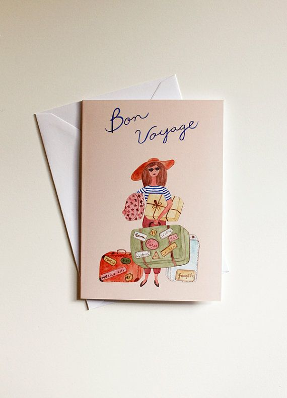 Bon voyage greeting card by epoquegraphics on etsy 280 https bon voyage greeting card by epoquegraphics on etsy 280 httpswww m4hsunfo