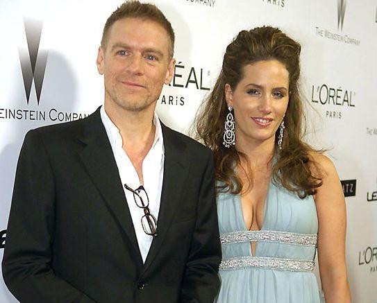 Bryan Adams with sexy, Wife Alicia Grimaldi