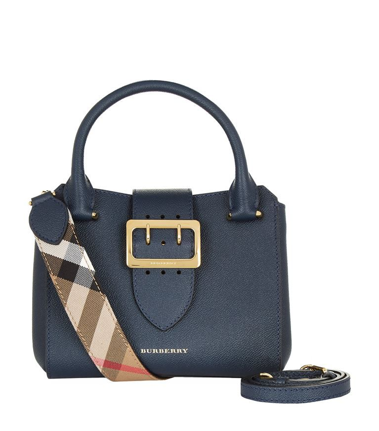 BURBERRY Small Buckle Tote Bag.  burberry  bags  shoulder bags  hand bags   leather  tote   c8f293b37fd3c