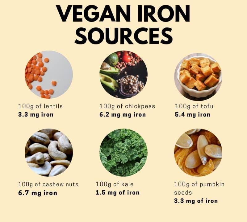Pin by Vamanos Vegan on Protein/B12/iron /calcium Vegan