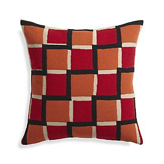 "Reyna Red 20"" Pillow"