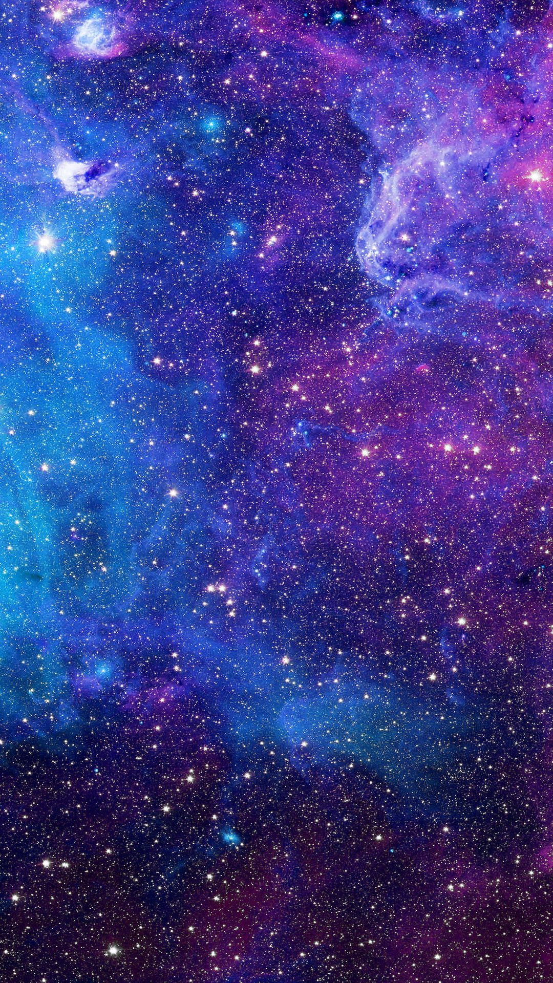 Purple Galaxy Background 4k
