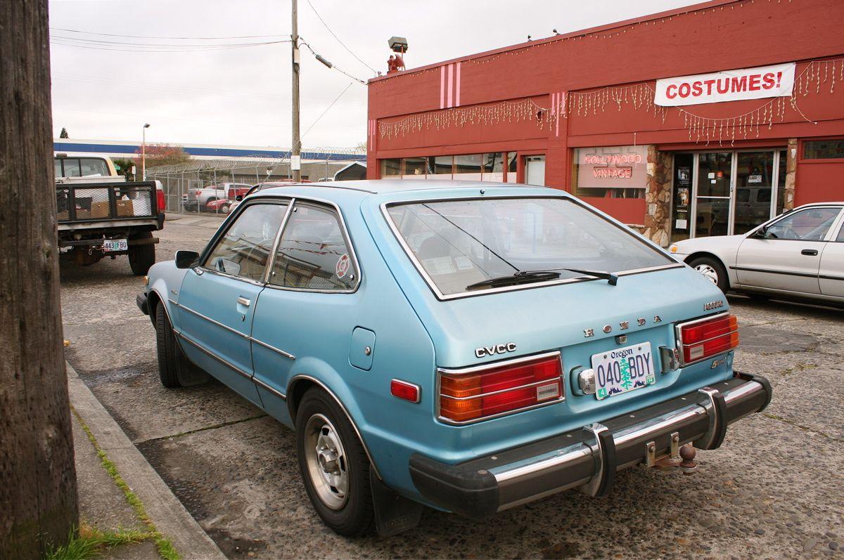1979 Honda Accord CVCC hatchback. | Honda accord ...