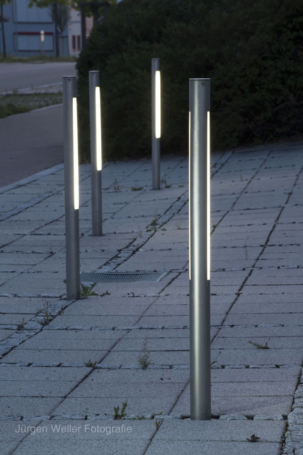 Commercial Square Light Bollards Google Search Contemporary