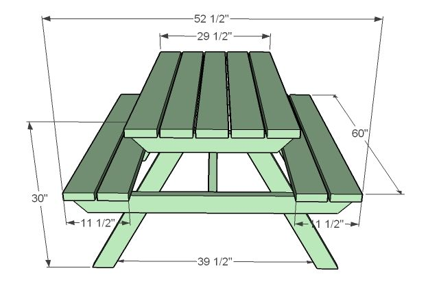 Picnic Table Plans Picnic Table Plans Diy Picnic Table Picnic Table