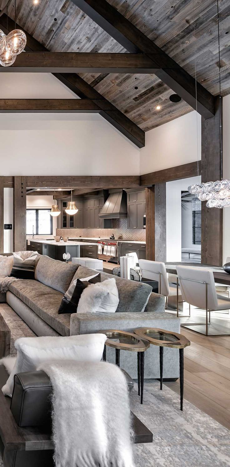 Rustic Living Rooms | How to Decorate | Stunning Images & Design Ideas
