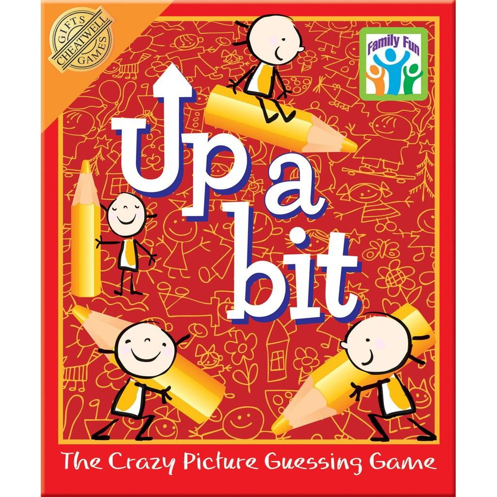 Up A Bit Drawing Game, a great present for 8 year old kids, that the ...
