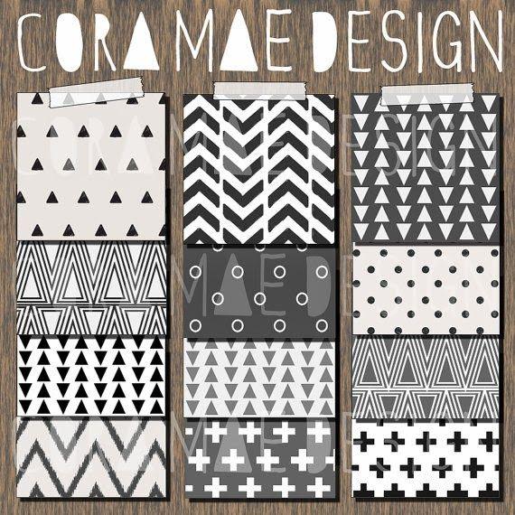 Cora Mae Design Digitales Papier Ausdrucken Papier Hintergrund