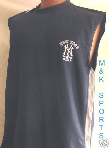 NEW YORK YANKEES SLEEVELESS EMBROIDERED VINTAGE 1903 JERSEY BY CSA ADLT LG  NWT b902d350b68