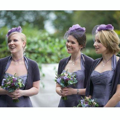 Fascinators on bridesmaids?