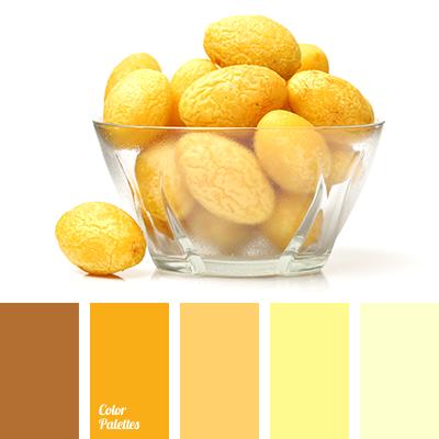 Bright Yellow Brown Color Of Ocher Dark Lemon Light Mustard Saffron And