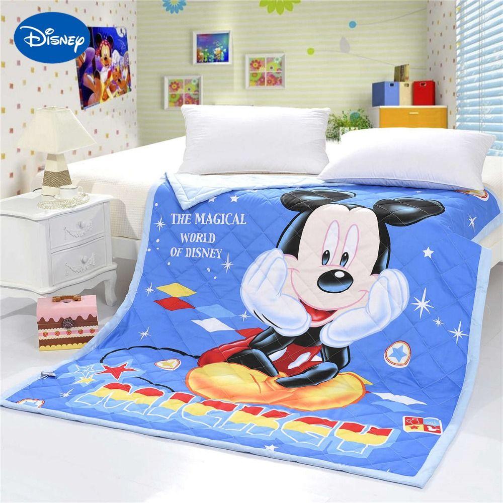 3D Disney Cartoon Микки Маус Печатных Одеяла Одеяла