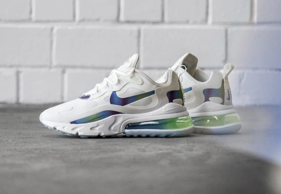 Que vaut la Nike Air Max 270 React Bubble Iridescent Pack