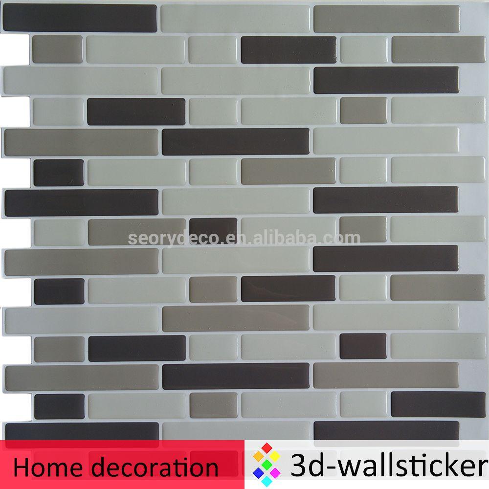 High Gloss Crystal Clear Self Adhesive Pu Wall Decor Wallpaper Self Adhesive Wall Tiles Wall Tiles Flexible Tile
