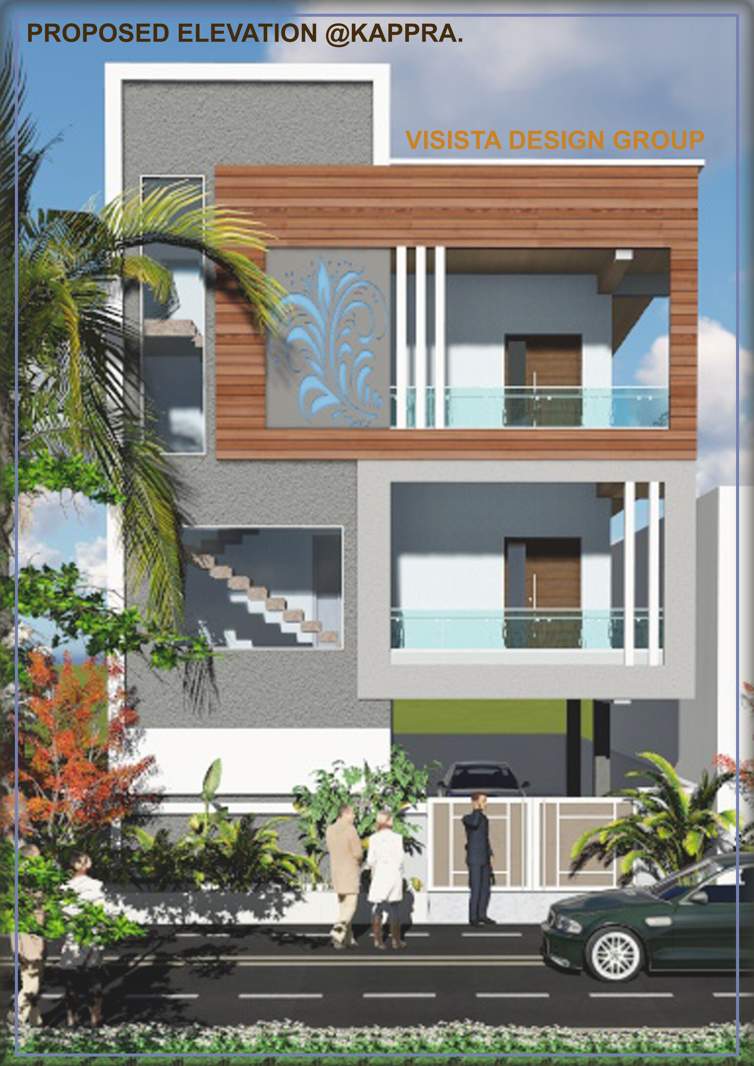 Pin by sravan kumar on designs | Small house elevation ...