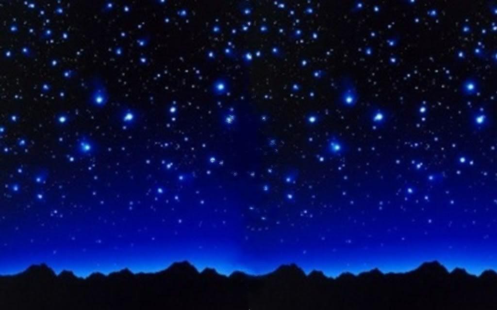 Seamless Starry Sky Background With Night Stars Stock Photo ...