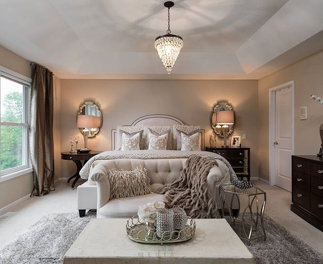 Little Inspiration to end your Sun night. Master Bedroom teaser from  yesterday's photoshoot … | Master bedrooms decor, Cozy master bedroom,  Apartment bedroom decor