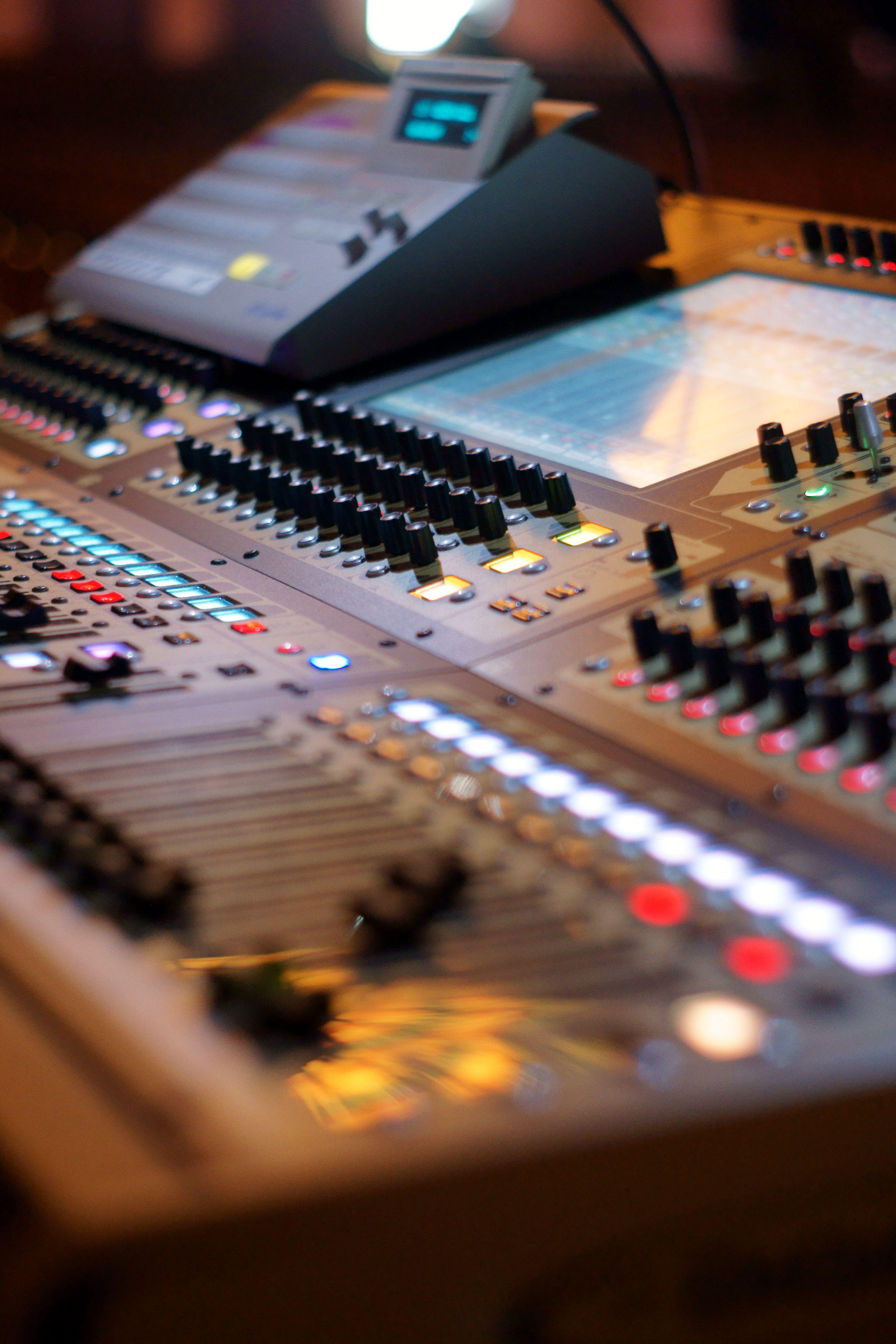 Digico digital console. digico audio video Lighting