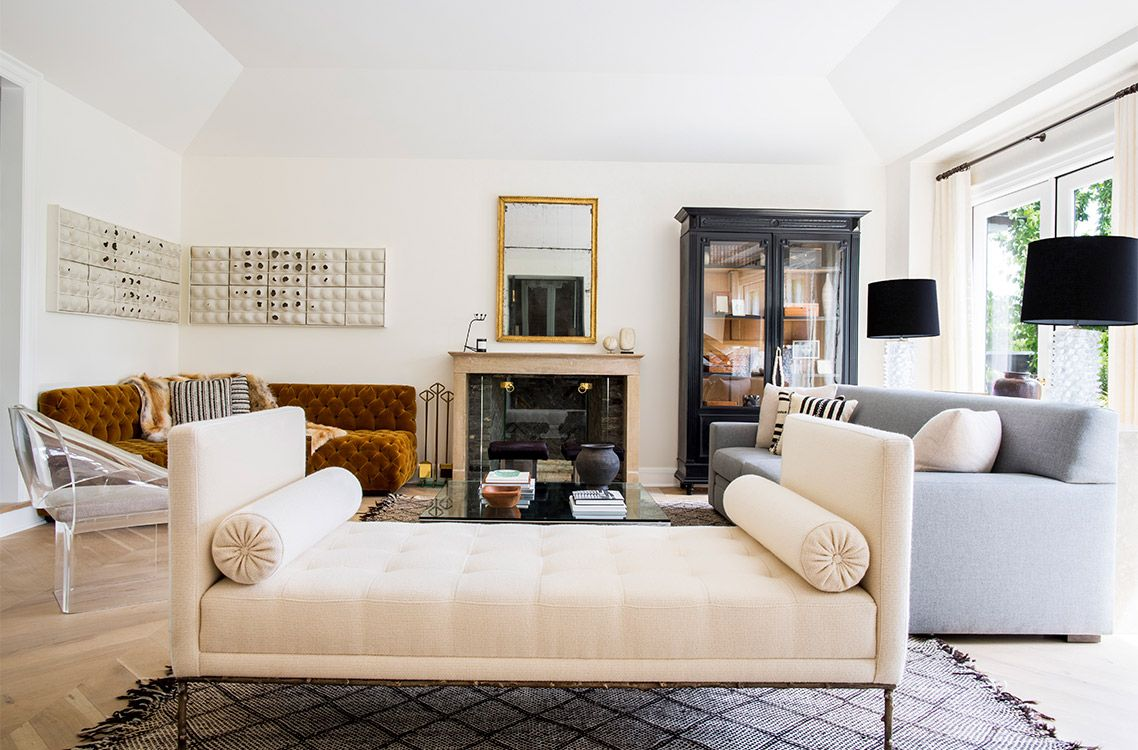 Nate Berkus Interiors Seattle Eclectic Modern Living Room With