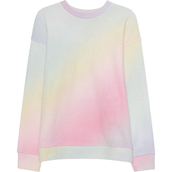 The Elder Statesman Felted Print Pastel // Rainbow colored ...