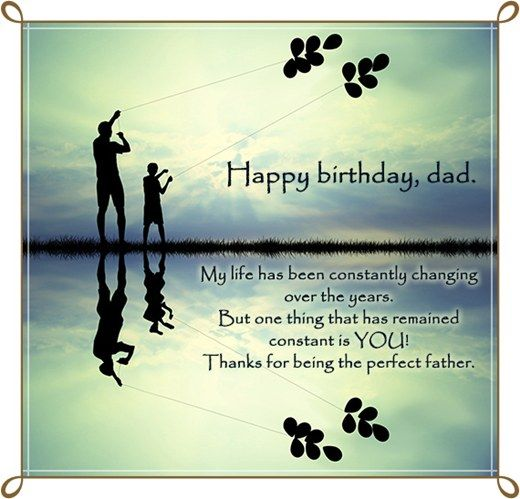 Happy Birthday Dad quotes   Father Birthday Quotes, Wishes