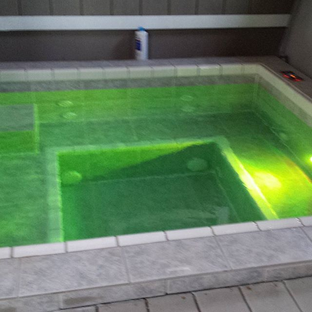 My hot tub with the new color changing light | Projects to Try ...