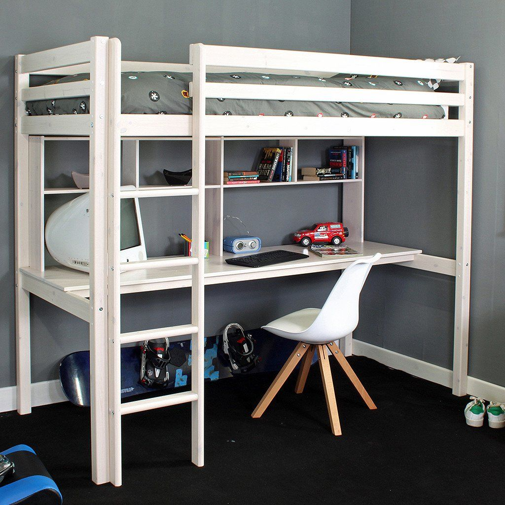 Thuka Cabin Bed Thuka Hit 10 High Sleeper Bed With Desk Shelves In 2019 Bunk