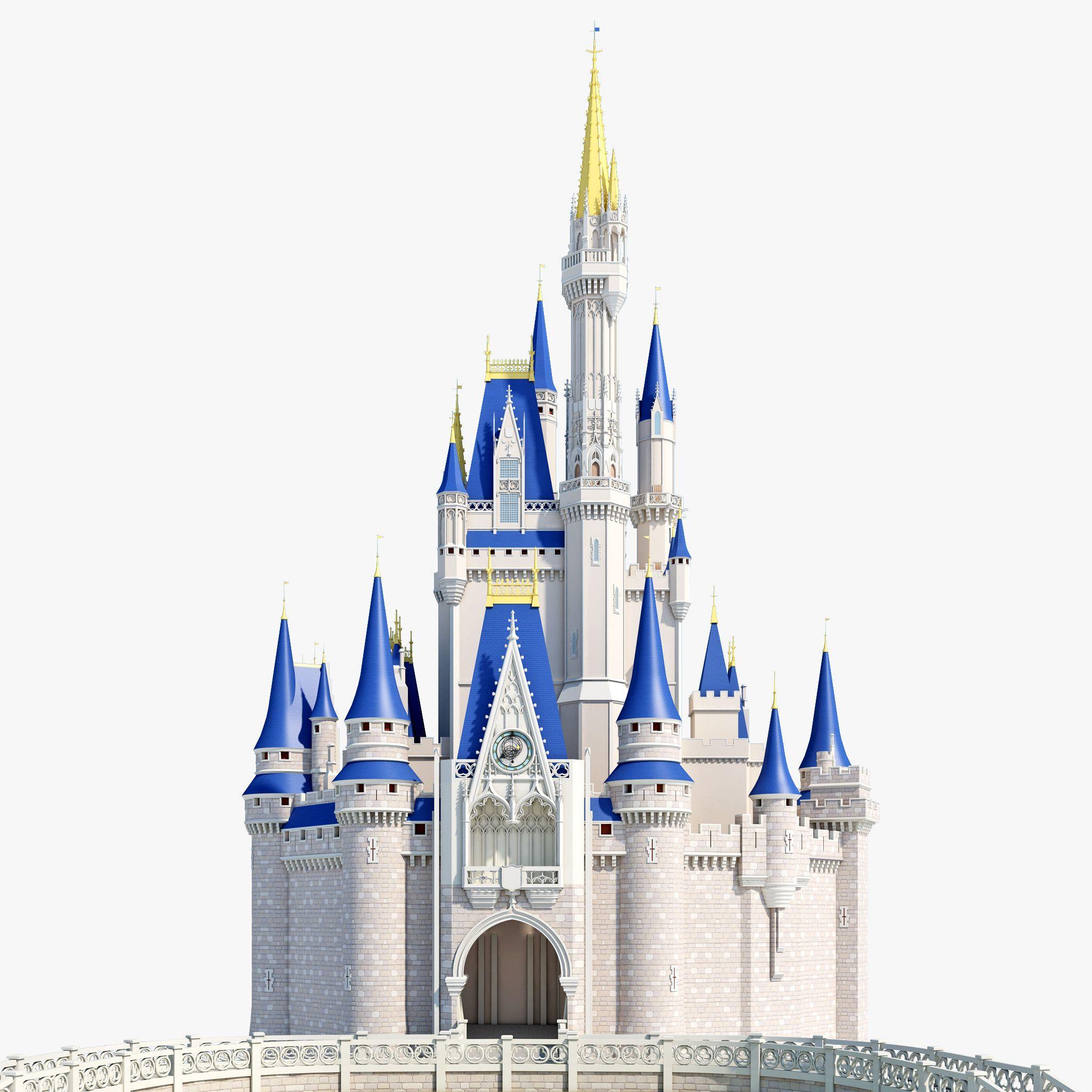 Замок синий картинка для детей