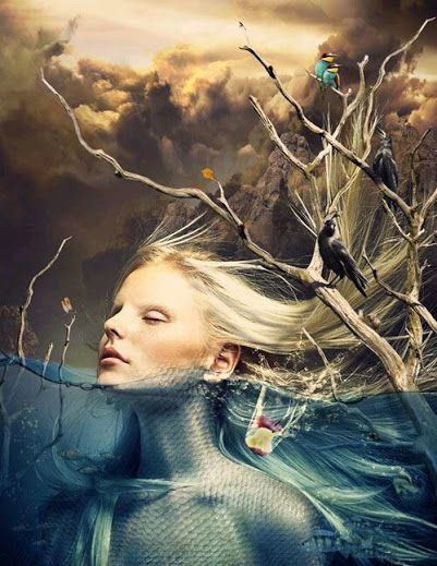 Chiara Anna..Sprofondo in quella carezza infinita...Mentre i miei pensieri. volano verso l'orizzonte..che si confonde col cielo