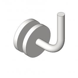 Glass handrail bracket Revit family | Fixings 3D CAD models | Glass