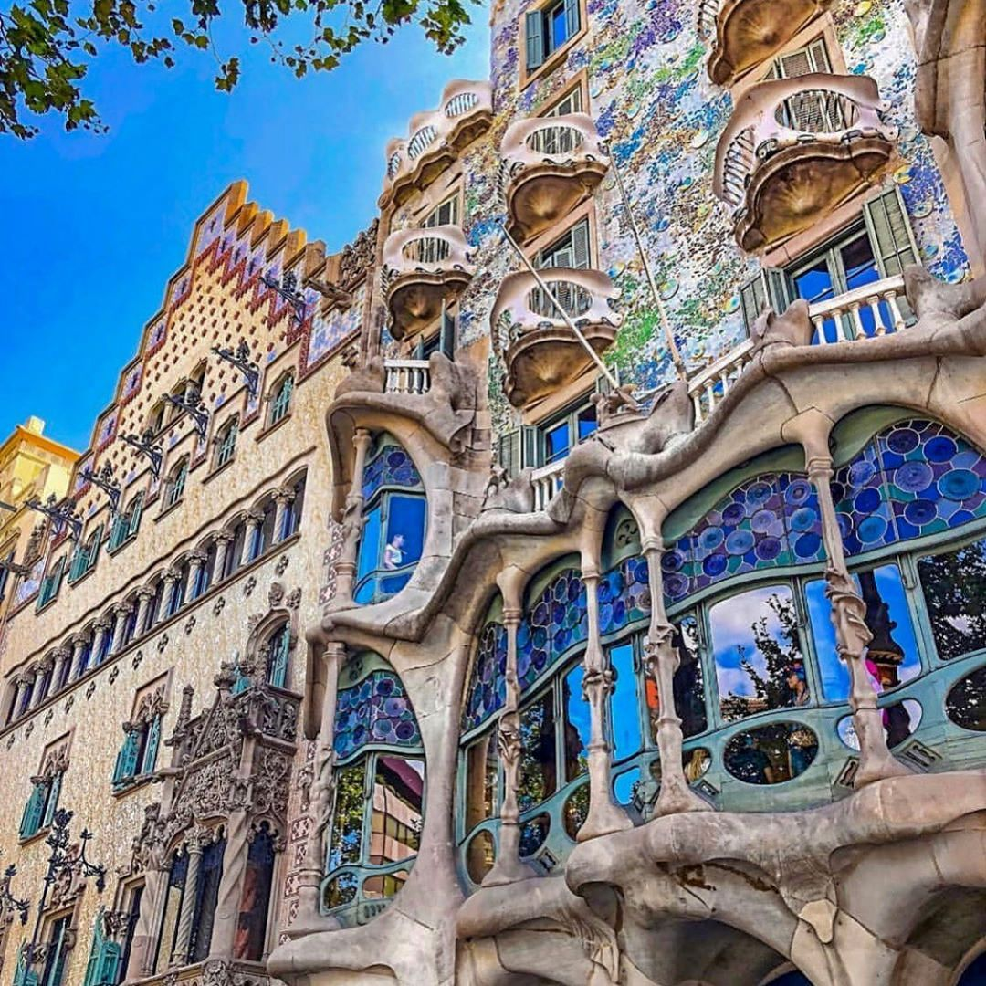 The Famous Buildings By Spanish Architect Antoni Gaudi Are