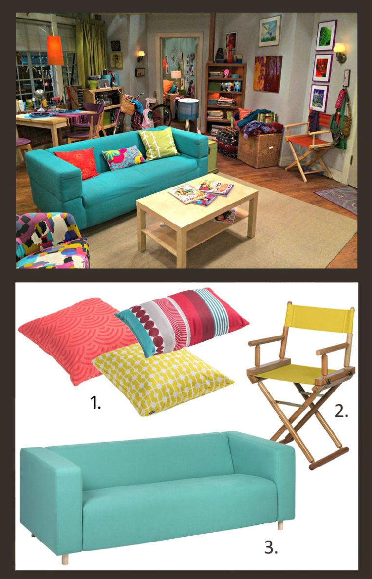 The big bang theory penny nerd pinterest casas y cosas for Decoracion piso big bang theory