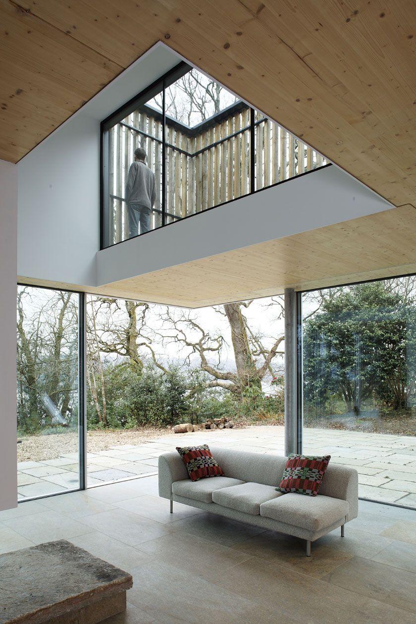 Lode architecture maison d double hauteur