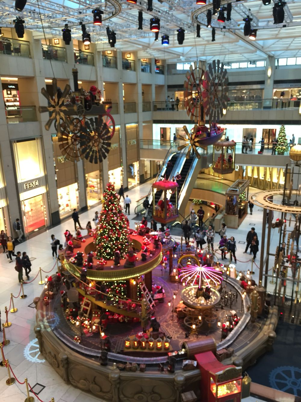 The best Christmas installation in Hong Kong, 2015