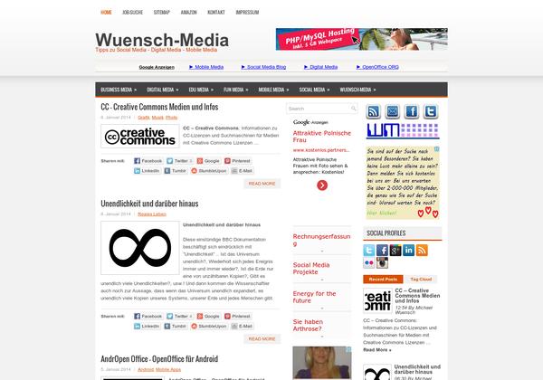 http://www.wuensch-media.de ... Wuensch-Media.de - Tipps zu Social Media - Digital Media - Mobile Media