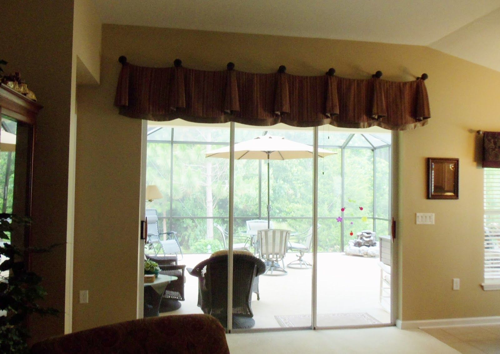 Window coverings for sliding doors  image result for window treatment for large patio doors  window