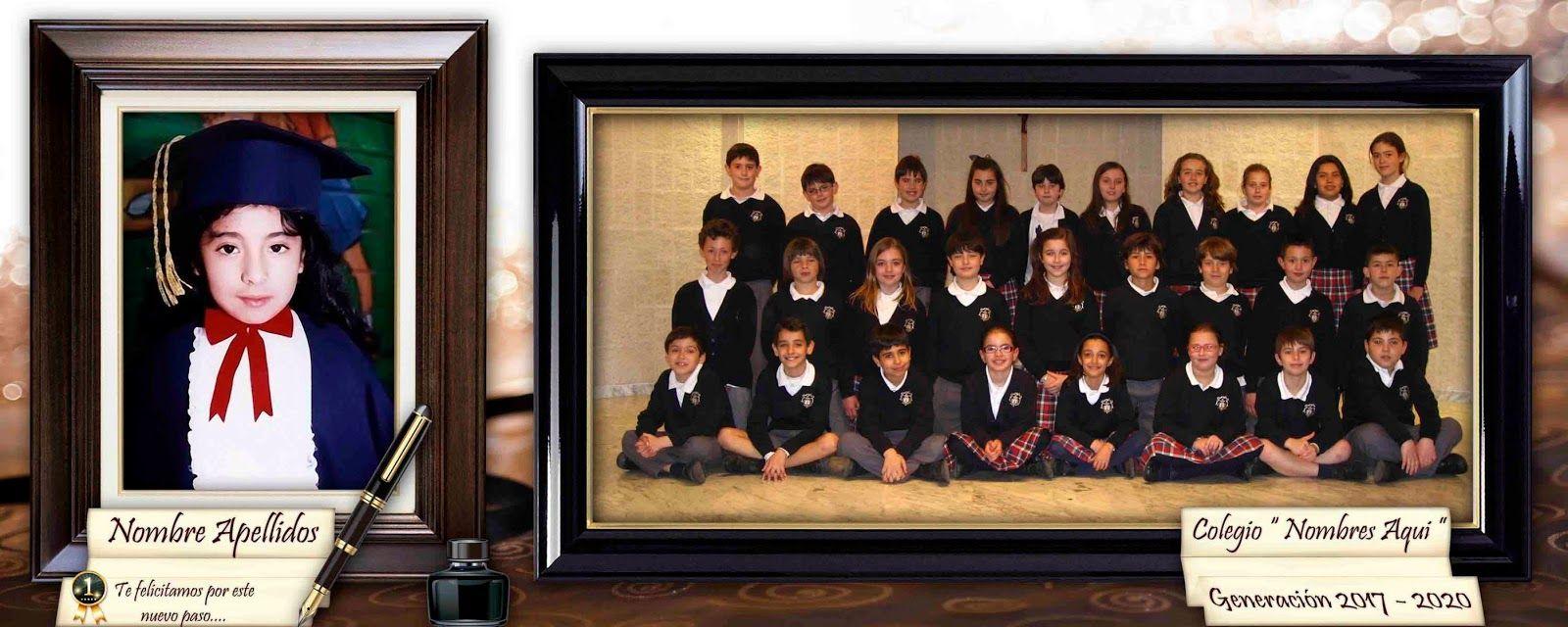 Marco para fotos de graduación - Plantillas para Photoshop 2014 ...